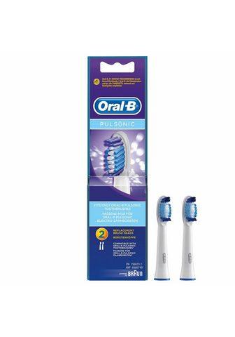 ORAL B Dantų šepetėlių antgaliai Pulsonic