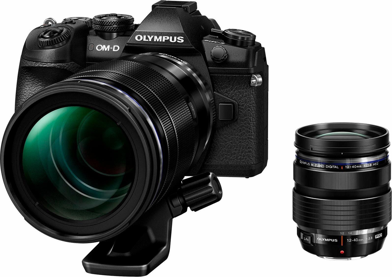 Olympus E-M1 Mark II (DZK) 12-40mm PRO & 40-150mm Pro Objektiv System Kamera
