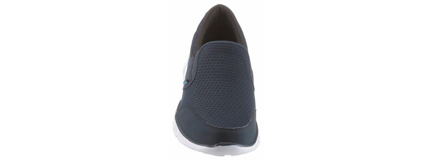 Skechers Equalizer Persistent Slip-On Sneaker, im coolen Materialmix