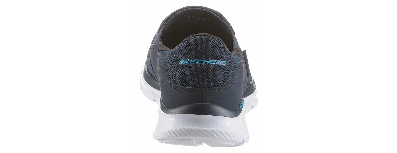 Skechers Equalizer Persistent Slip-On Sneaker, im coolen Materialmix