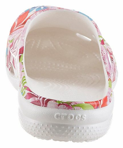 Crocs Freesail Graphic Clog Clog, mit allover Blumendruck