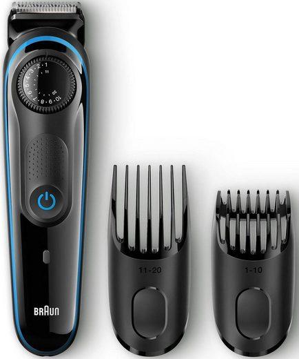 Braun Haar- und Bartschneider BT3040 Bartrimmer, mit Gillette Fusion ProGlide Rasierer