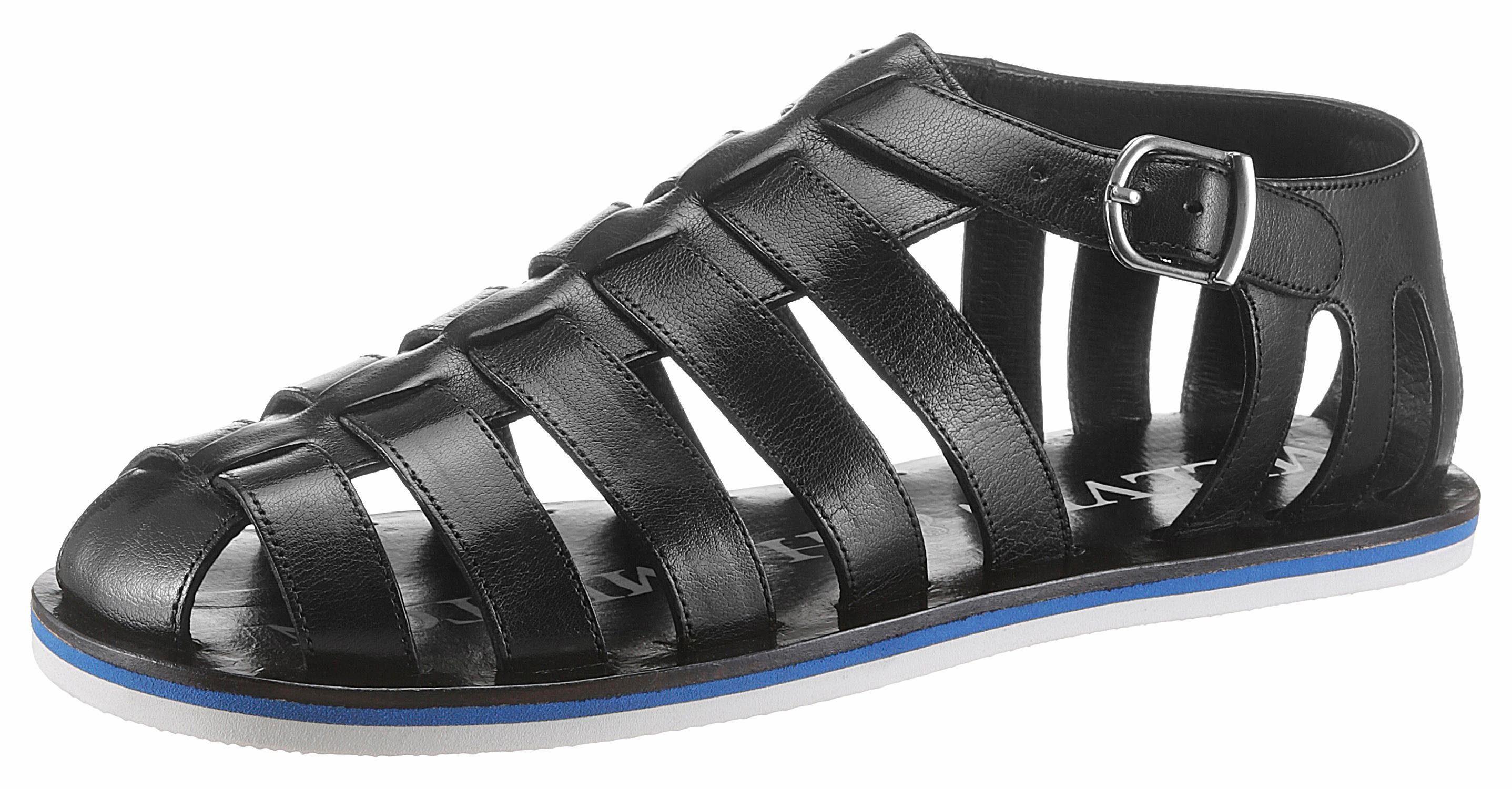 Melvin & Hamilton Sam 3 Sandale, mit verstellbarer Schnalle online kaufen  schwarz