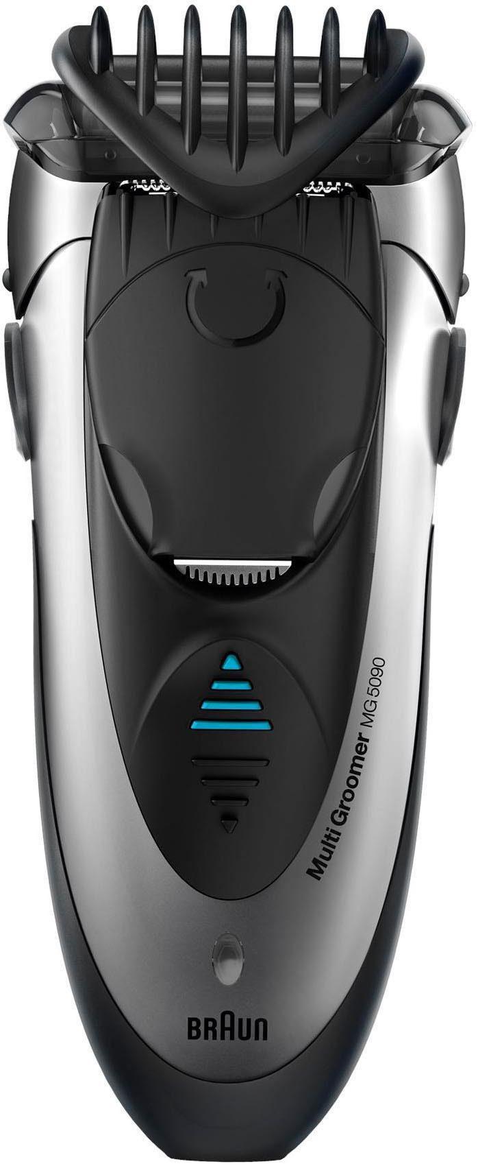 Braun Multifunktionstrimmer MG5090, Wet&Dry Rasieren, trimmen und stylen, alles in einem