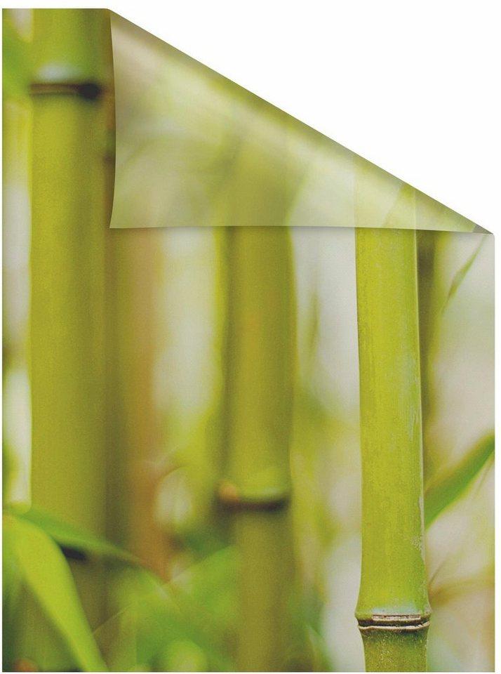 fensterfolie bambus lichtblick blickdicht. Black Bedroom Furniture Sets. Home Design Ideas