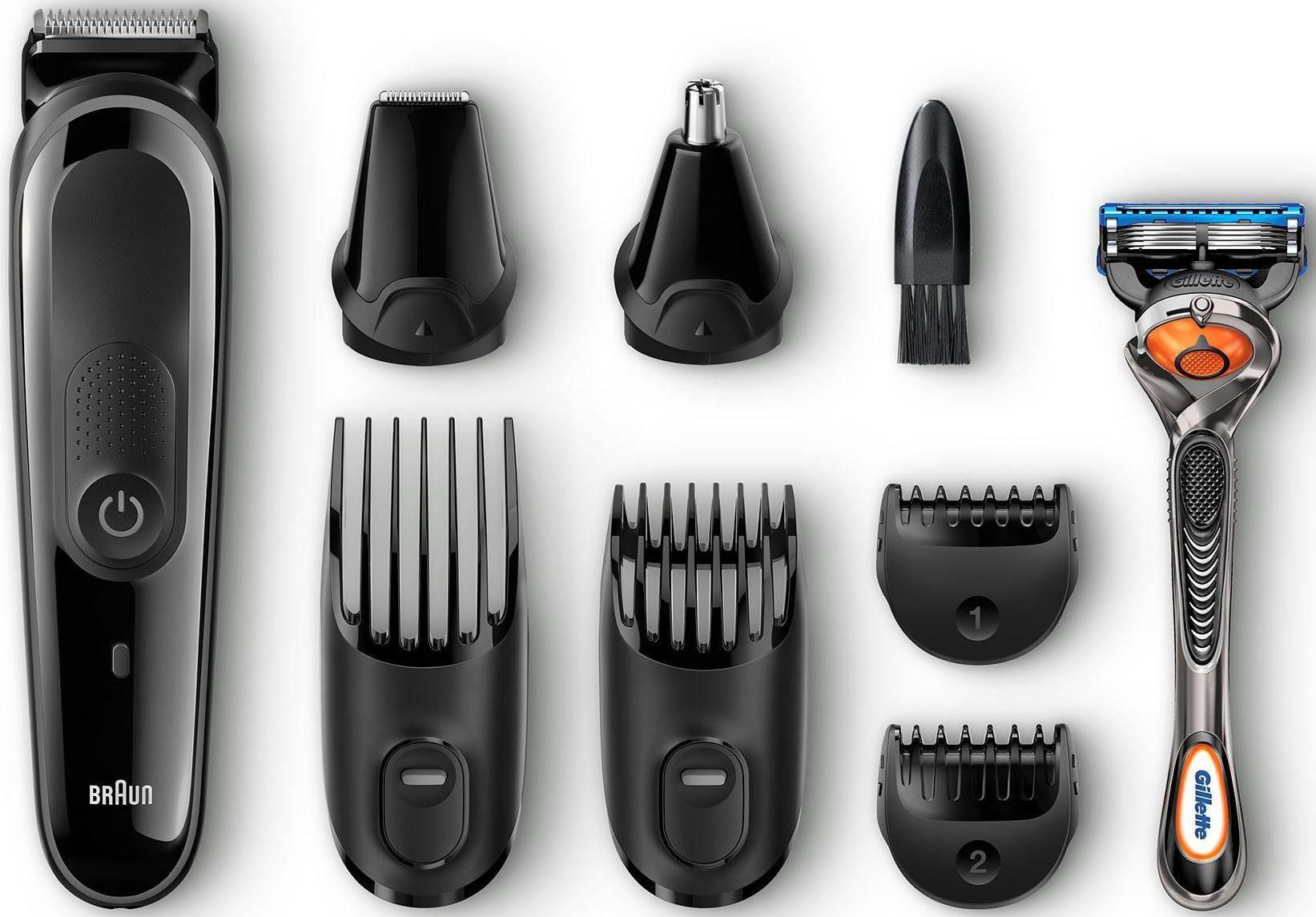 Braun Multigrooming-Set MGK3060, 8-In-1 Präzisions-Bart- und Haartrimmerset