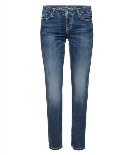 SOCCX Gerade Jeans