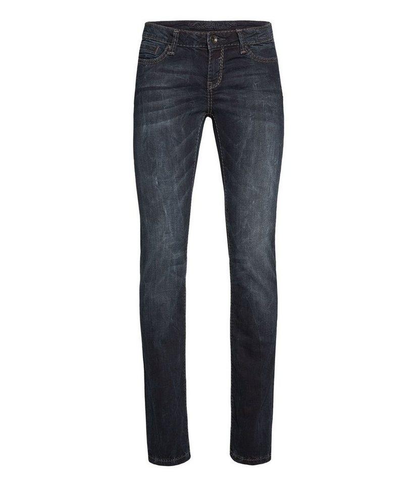 SOCCX Gerade Jeans,...