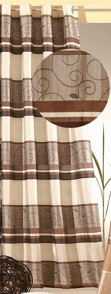 vorhang weckbrodt gardinen genf mit sen 1 st ck online kaufen otto. Black Bedroom Furniture Sets. Home Design Ideas