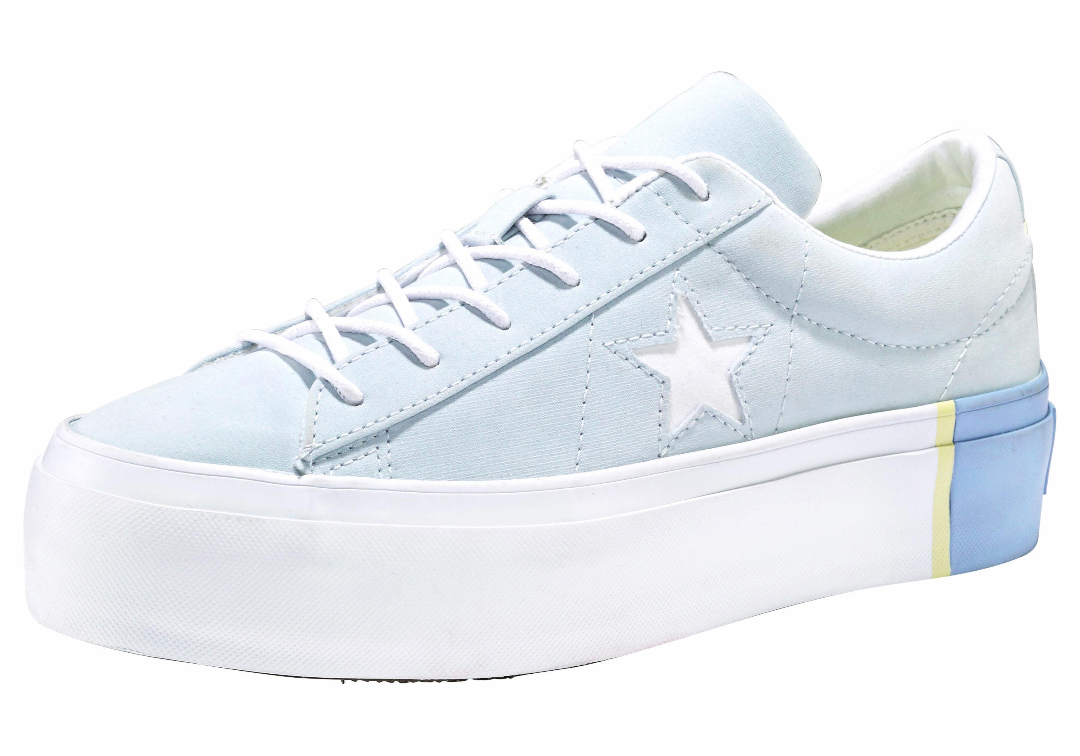 plateau sneaker damen schuhe converse