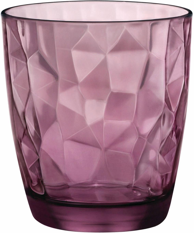 van Well Whiskyglas »Diamond« (6-tlg), effektvolle Struktur