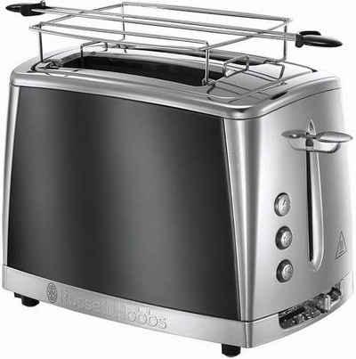 RUSSELL HOBBS Toaster Luna Moonlight 23221-56, 2 kurze Schlitze, 1550 W