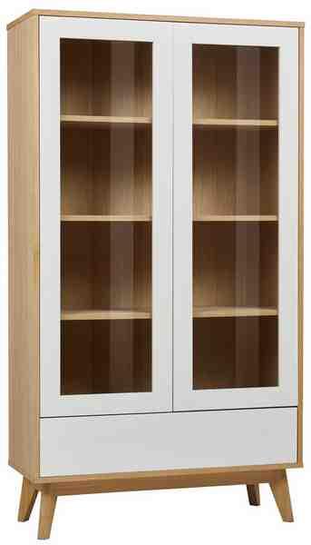 GMK Home & Living Vitrine «Calluna», im modernen, skandinavischen Design, viel Stauraum, in verschiedenen Farbern