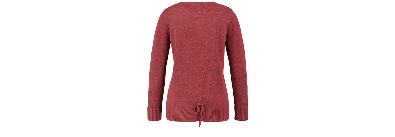 Mit Paypal Verkauf Online Auslass Zum Verkauf Taifun Pullover Langarm Rundhals Pullover mit Schnürung im Rücken QklrxK