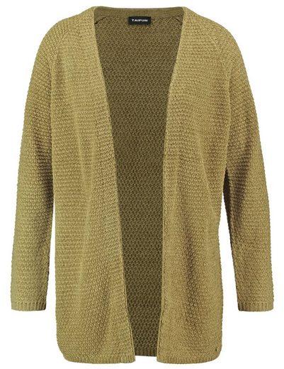Typhoon Jacket Knitting Open Chenille-cardigan