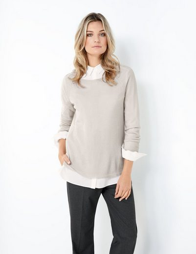 Typhoon Pullover Long Sleeve Crew Neck Pullover Wool And Cashmere