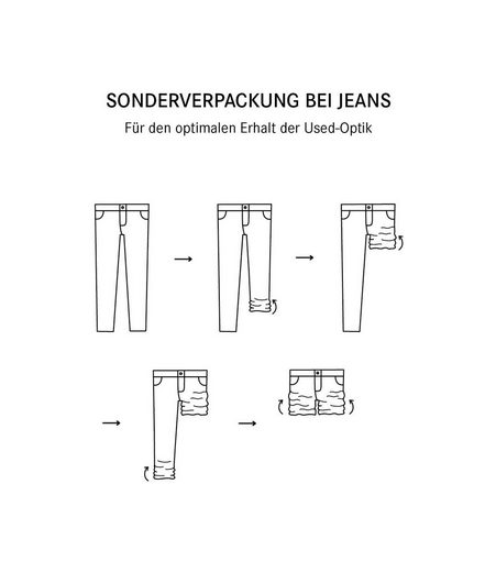 SOCCX Regular-fit-Jeans