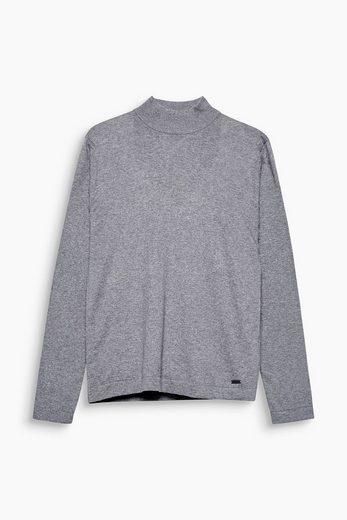 EDC BY ESPRIT Turtleneck-Pullover mit Kaschmir