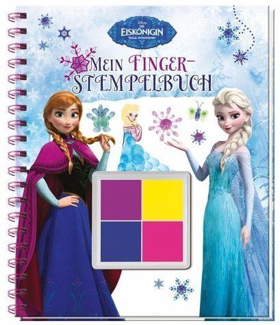 Gebundenes Buch »Disney Die Eiskönigin Mein Fingerstempelbuch«