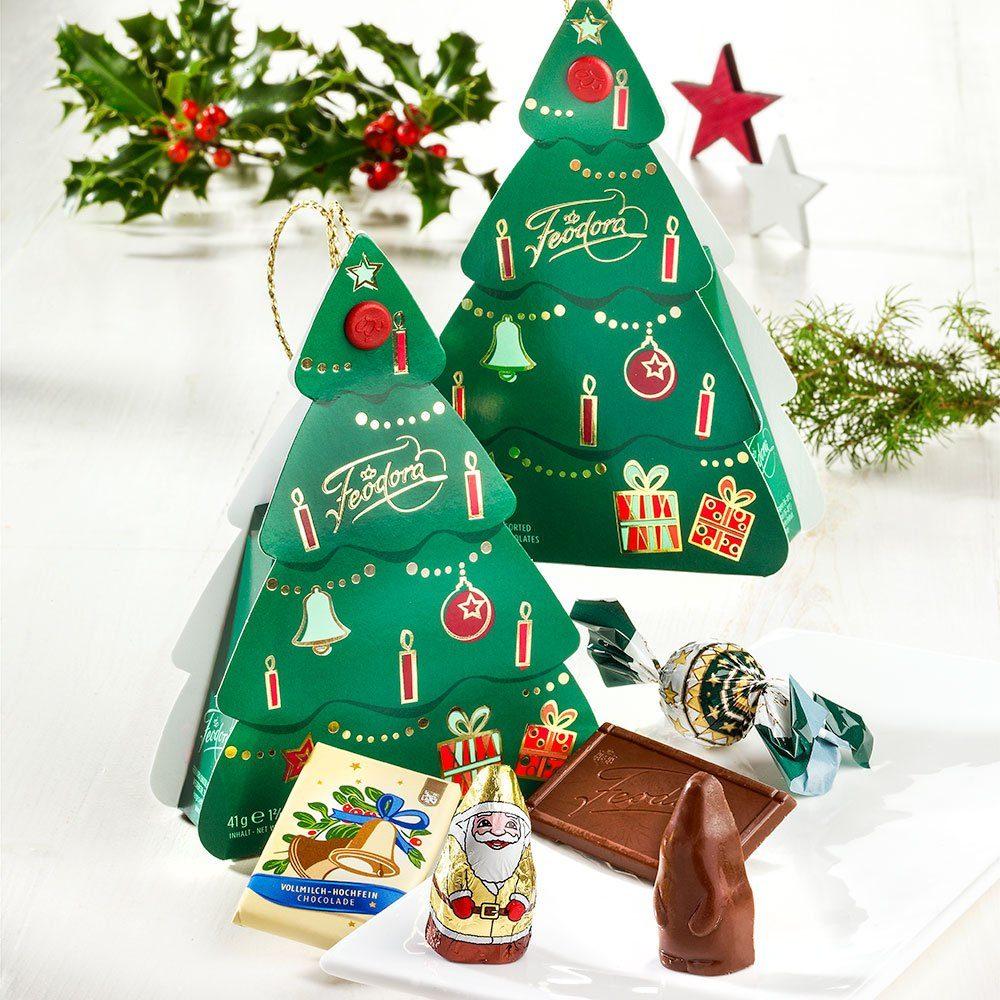 Feodora Weihnachtstanne Pralinés mit Nougat