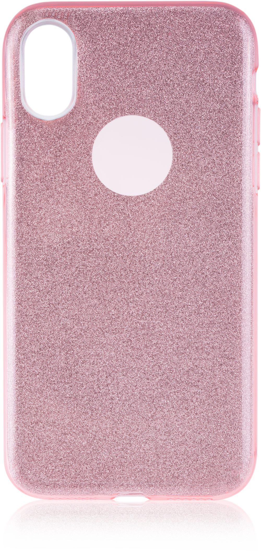 Scutes Deluxe GSM - Zubehör »Schutzhülle TPU - iPhone X glitzer rosa«