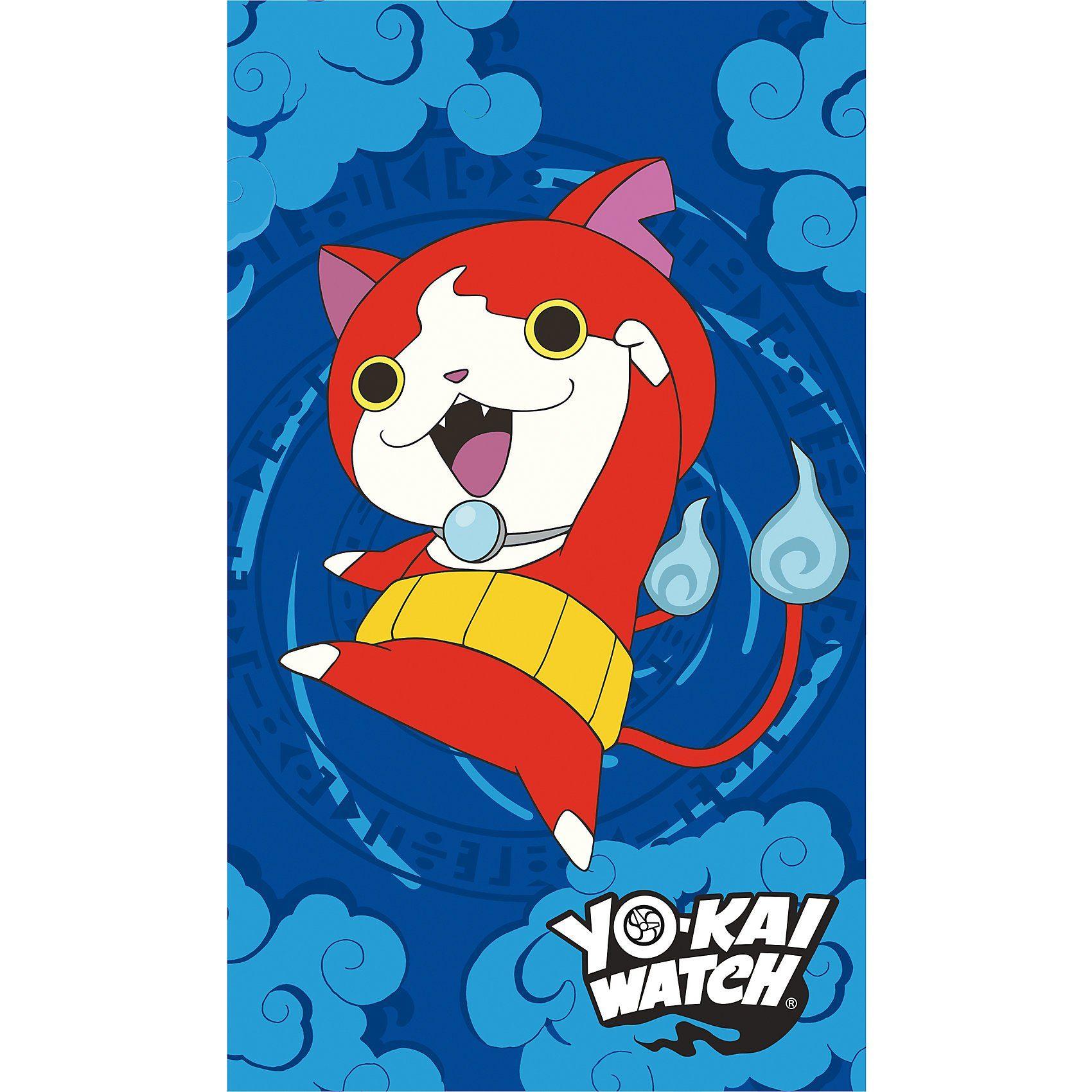 CTI Strand- und Badetuch Yo Kai Watch Gang, 70 x 120 cm