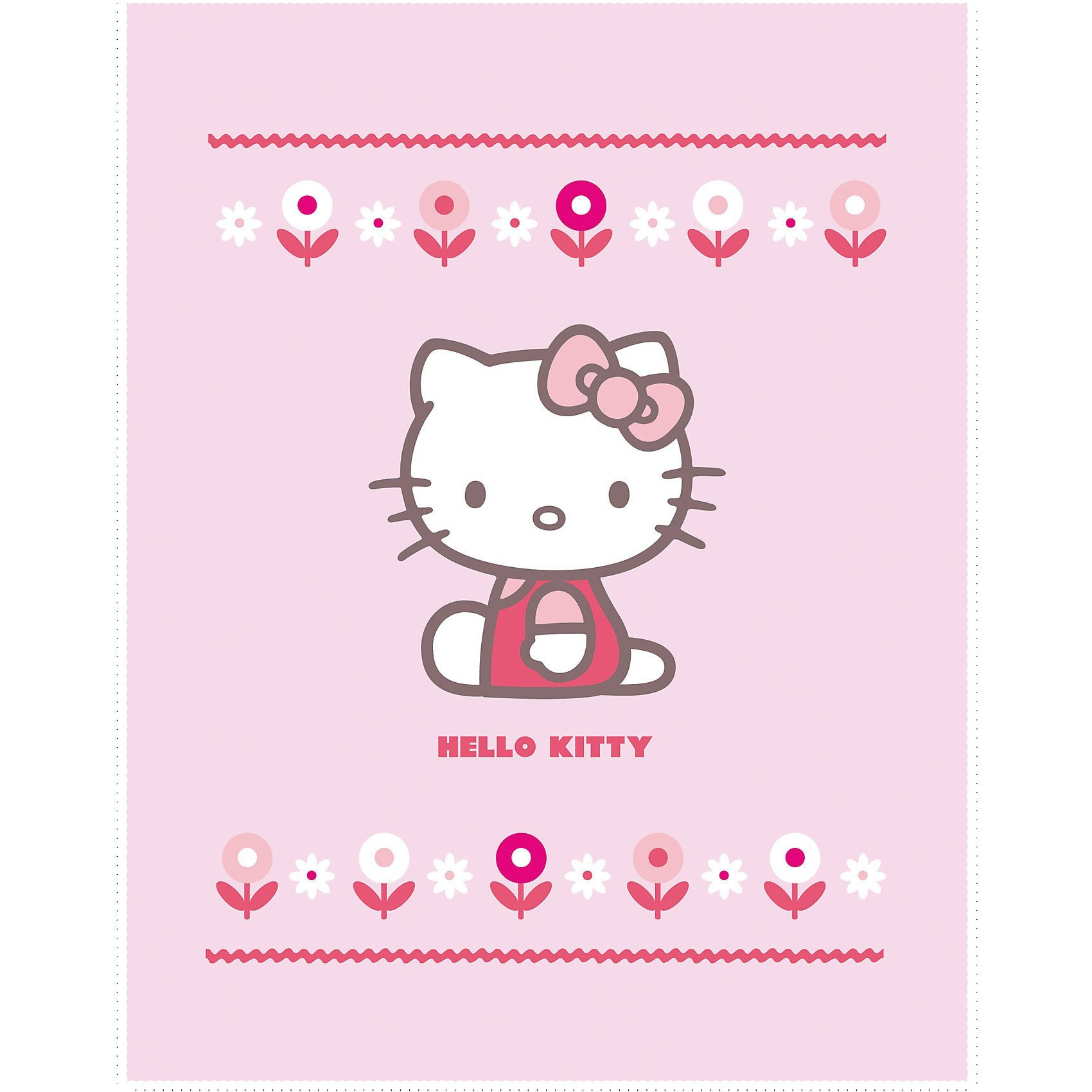 CTI Kuscheldecke Hello Kitty Caroline, 110 x 140 cm
