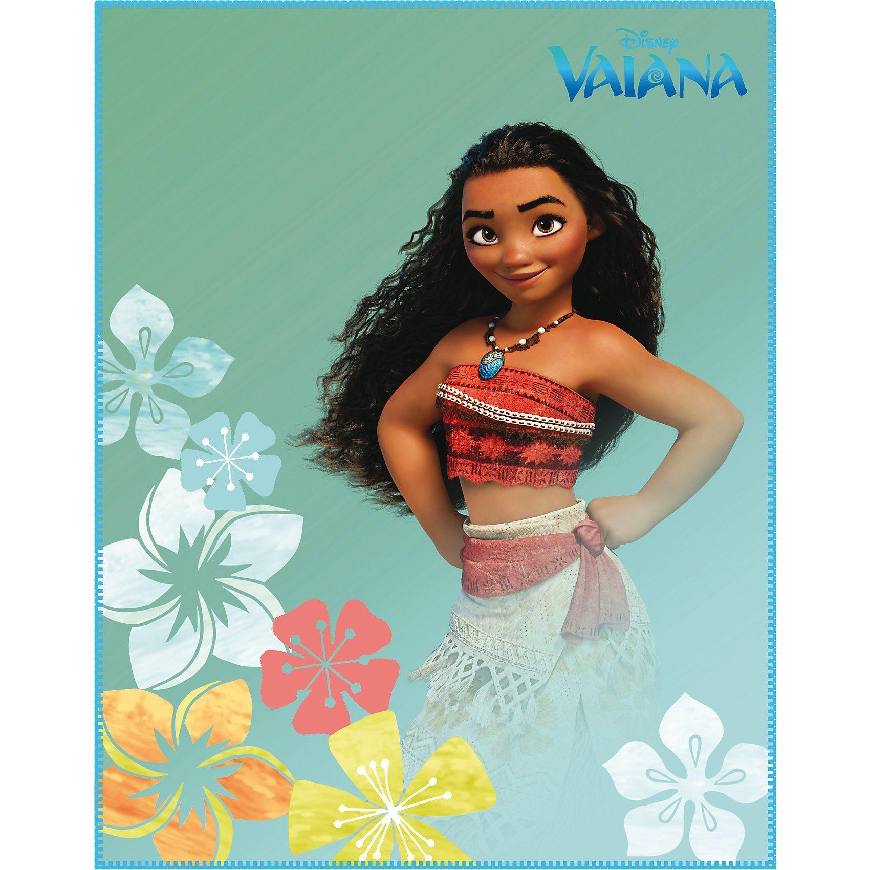 CTI Kuscheldecke Vaiana Aloha, 110 x 140 cm