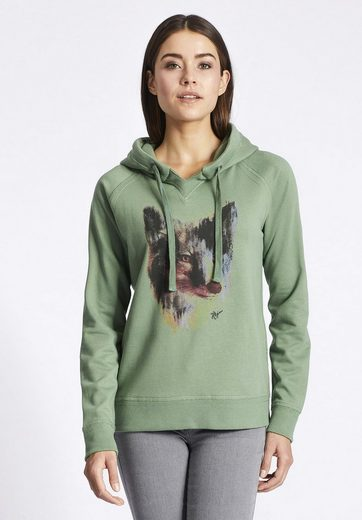 Khujo Sweatshirt With Jolante Placed Print With Print On The Front