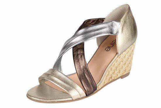 Heine Sandalette With Metallic Effect