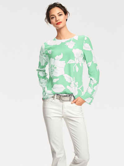 STYLE Blusenshirt mit Blumen-Print