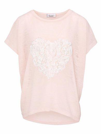 LINEA TESINI by Heine Shirt mit Rüschen