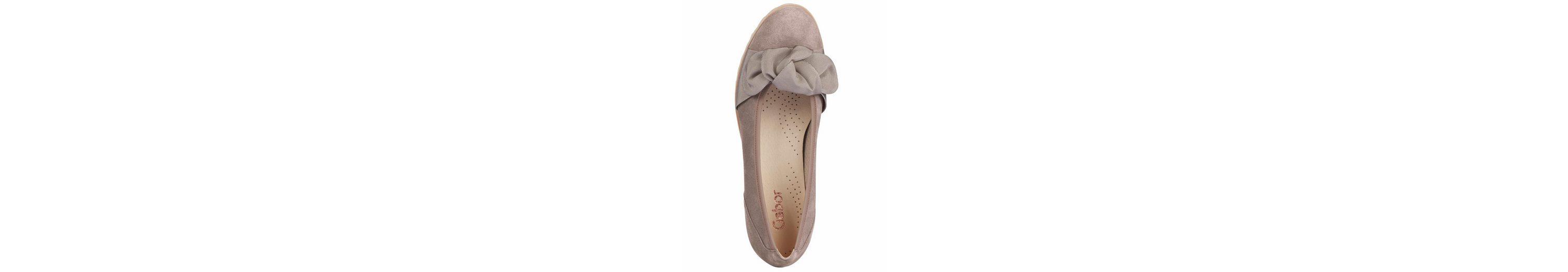 Günstiger Online-Shop GABOR Ballerina mit Schleifenapplikation Erhalten Authentische Online Günstig Für Schön 9SvtKZ0OR