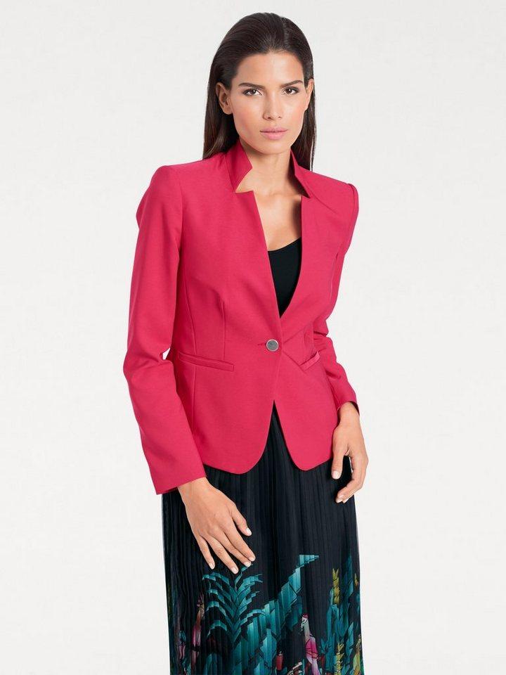 Damen heine  TIMELESS Blazer mit modischem Revers rosa | 06934677596600