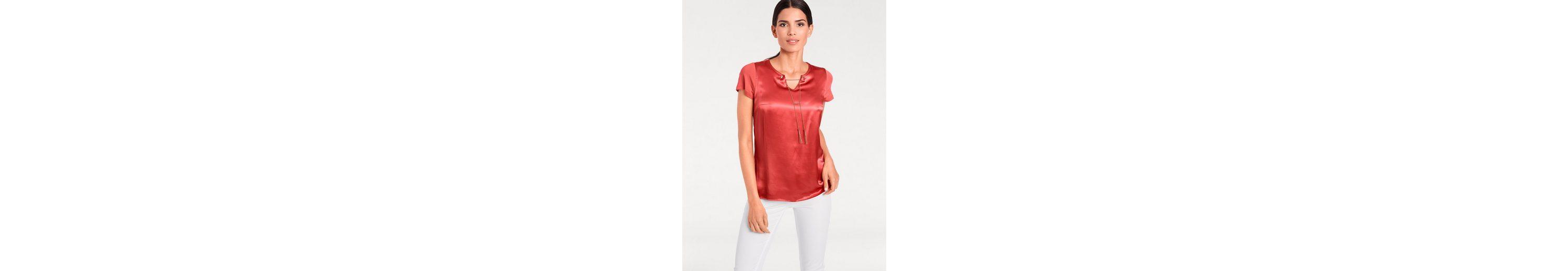 Billig Verkauf Vorbestellung PATRIZIA DINI by Heine Shirt mit Seide Zum Verkauf Der Billigsten gJ70FA5bWi