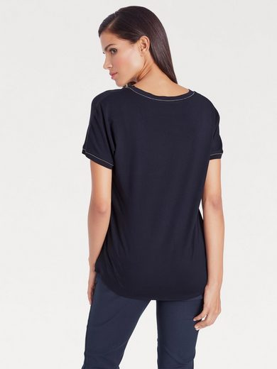 ASHLEY BROOKE by Heine Blusenshirt in Seide