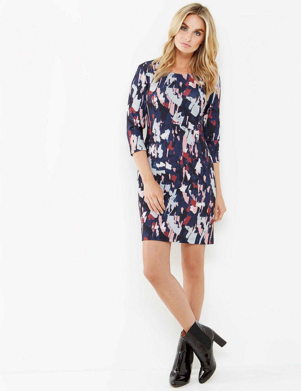 Taifun Kleid Gewirke »Kleid aus Struktur-Jersey«