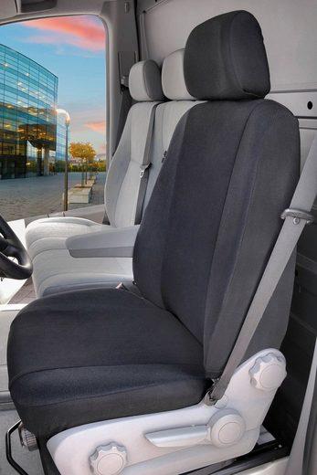 WALSER Autositzauflage Transporter Universal Lowback