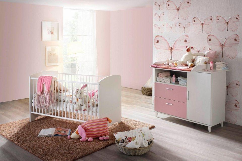 Babyzimmer spar set nizza babybett wickelkommode 2 - Otto babyzimmer ...