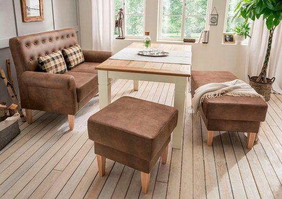 Home affaire Küchensofa »Scalea«, mit Federkern, inkl. Zierkissen