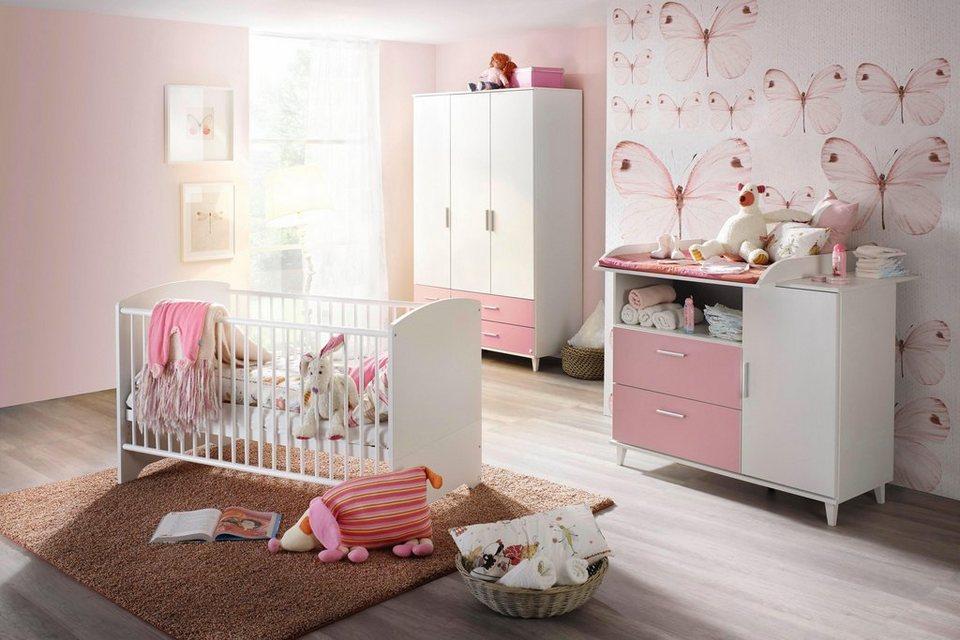 komplett babyzimmer nizza babybett wickelkommode. Black Bedroom Furniture Sets. Home Design Ideas