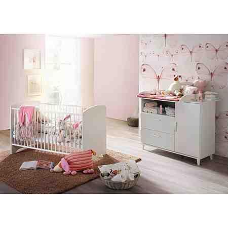 Babyzimmer Nizza weiß