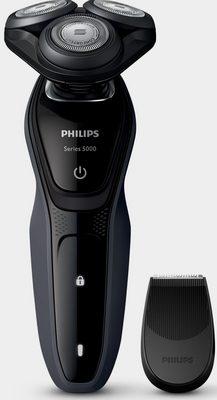 Philips Elektrorasierer Series 5000 S5270/06, Aufsätze: 1, SmartClick-Präzisionstrimmer, Akku, ComfortCut, Aquatec Wet&Dry