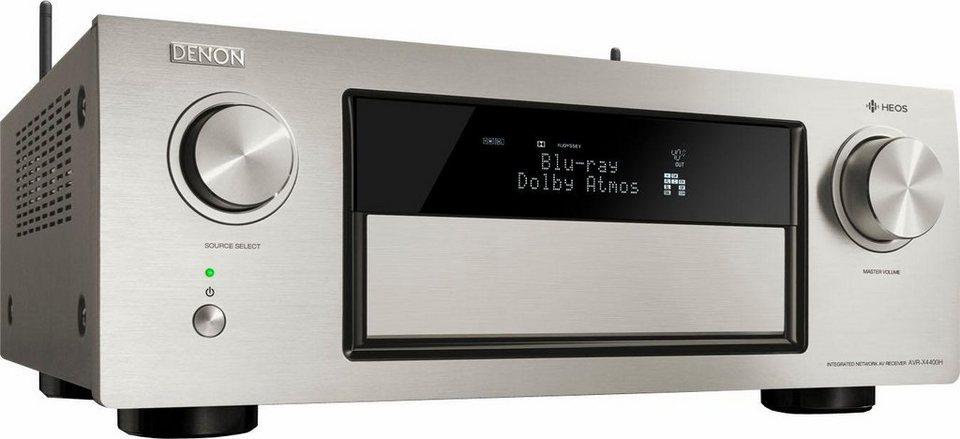 denon avr x4400h 9 kanal av receiver hi res spotify. Black Bedroom Furniture Sets. Home Design Ideas