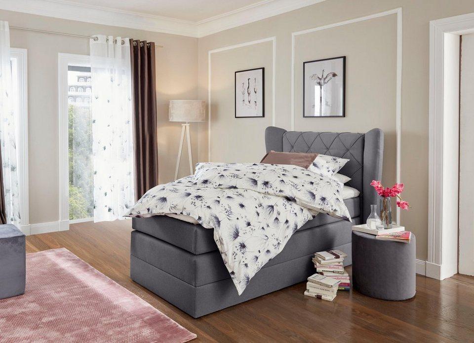 gmk home living boxspringbett westpoort inkl bettkasten online kaufen otto. Black Bedroom Furniture Sets. Home Design Ideas