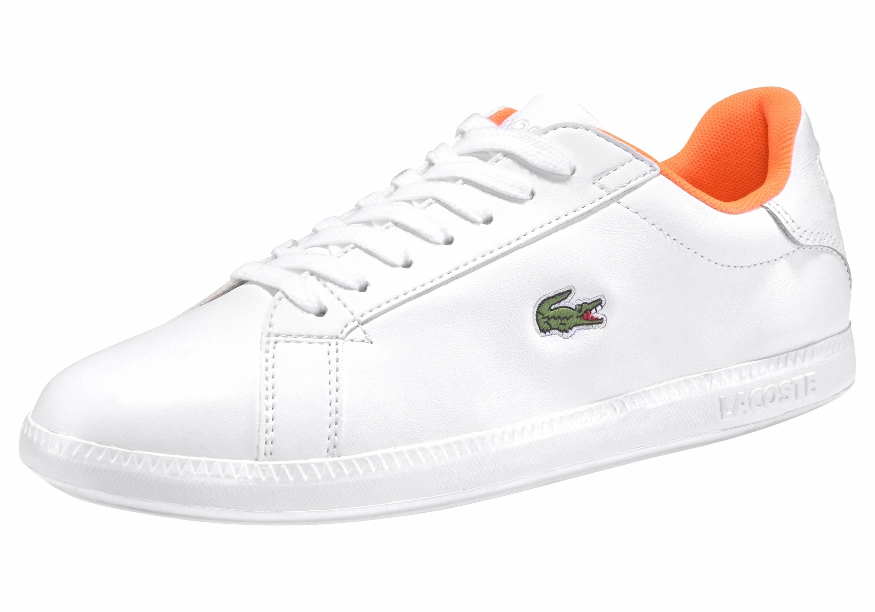 Lacoste Graduate 118 1 SPW Sneaker online kaufen  weiß-neonorange