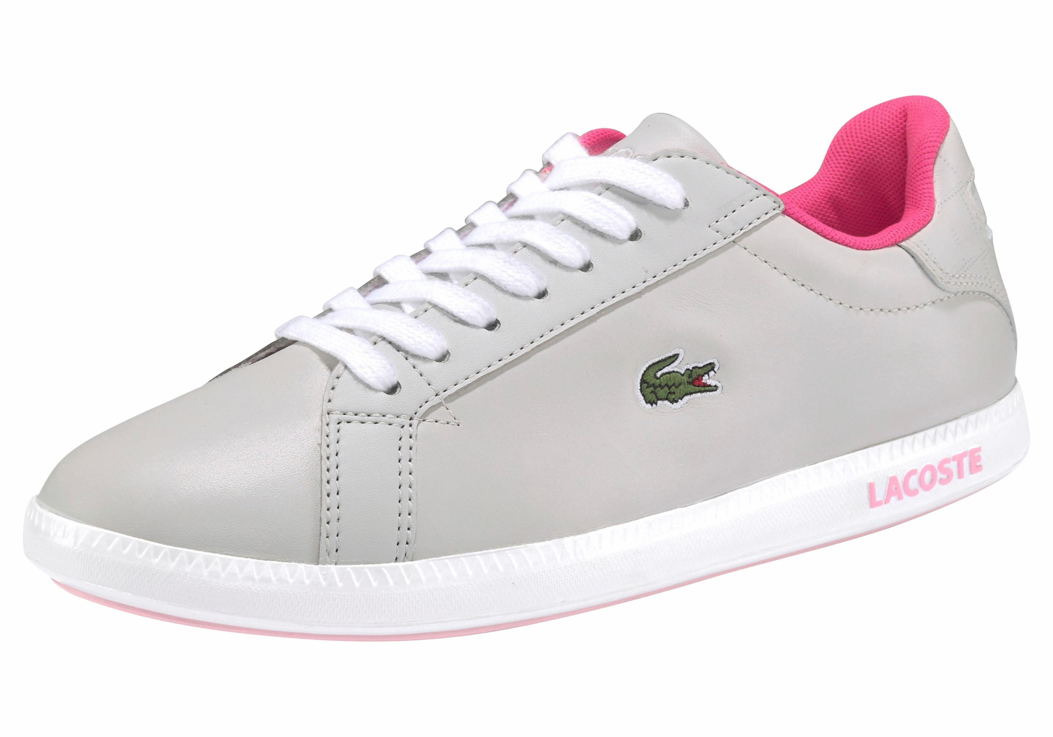 Lacoste Graduate 118 1 SPW Sneaker online kaufen  grau-neonpink