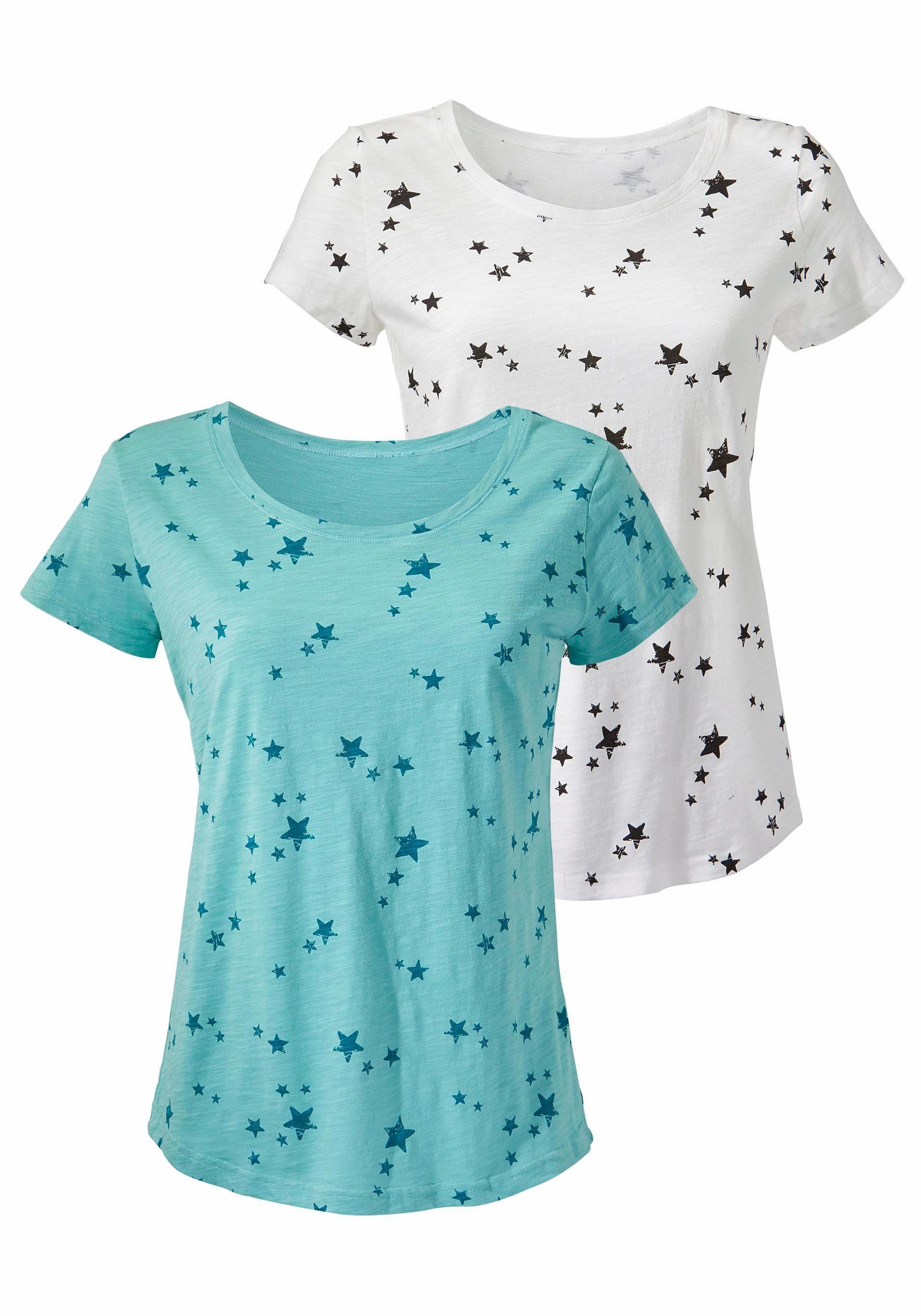druck Vivance Online T Sterne shirt2er packMit Kaufen Schönem dCxhorBtsQ