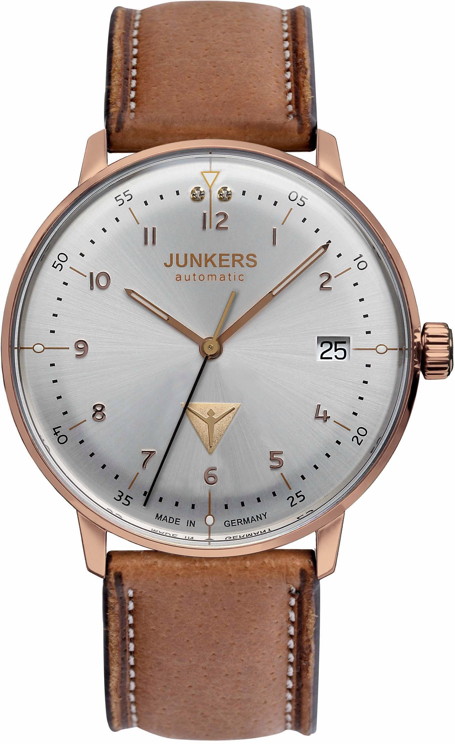 Junkers-Uhren Automatikuhr »Bauhaus, 60694«, made in Germany