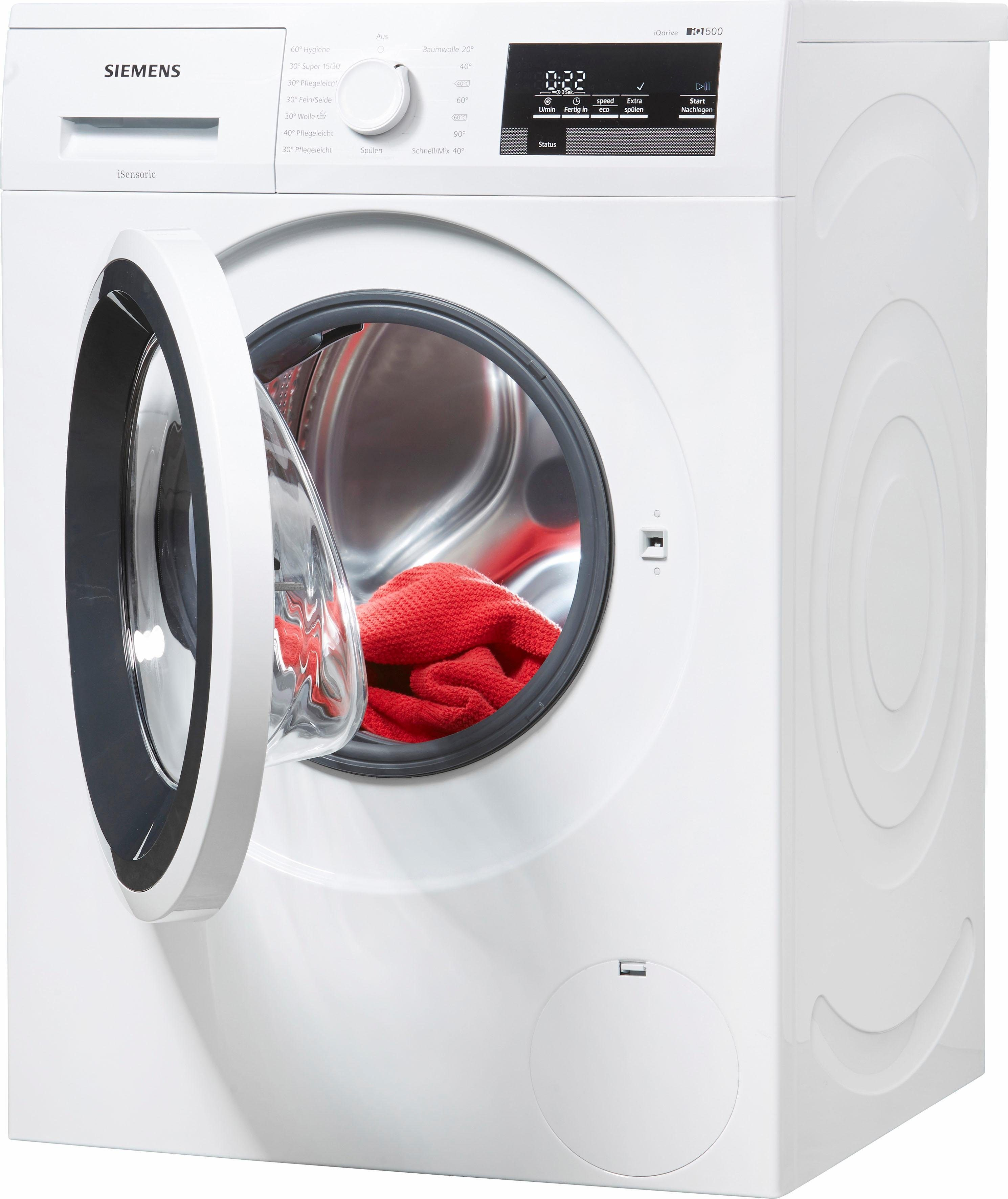 SIEMENS Waschmaschine iQ500 WM14T3ECO, 8 kg, 1400 U/Min